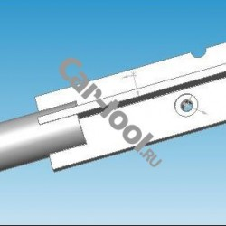 Крепежный кронштейн подъемника коробки передач