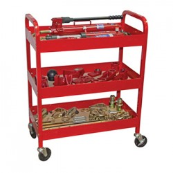Набор гидравлического кузовного инструмента 10 т, на тележке Licota ATS-4053S2