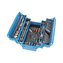 Набор инструмента в металлическом ящике 57пр AHB-533K01